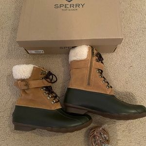 Sperry for J.Crew Shearwater Boots With Buckle